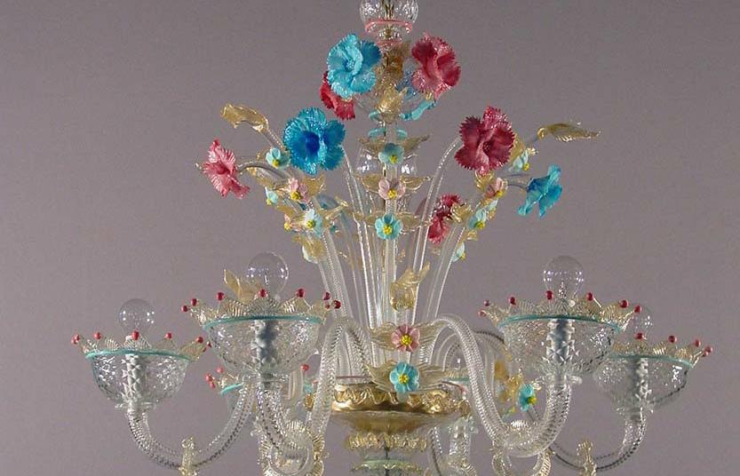 Lampadari murano moderni artistico lampadario a sospensione di